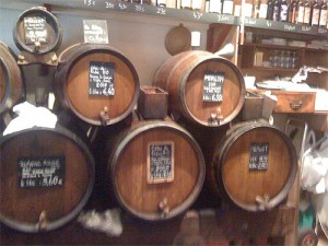 Casks at the Baron Rouge