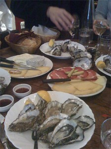 The oyster feast