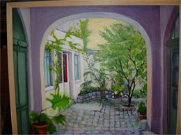 courtyard_painting_by_caroline