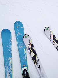 two_pairs_of_skis